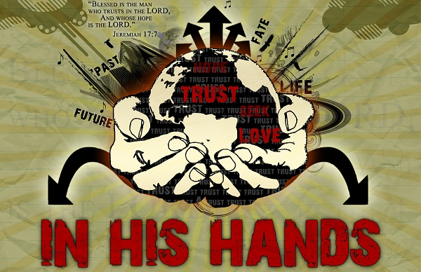 Live Blessed in His Hands!