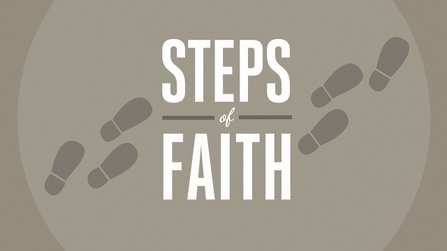 Steps of faith with patience and endurance