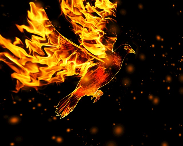 The Holy Spirit, the fire of Pentecost