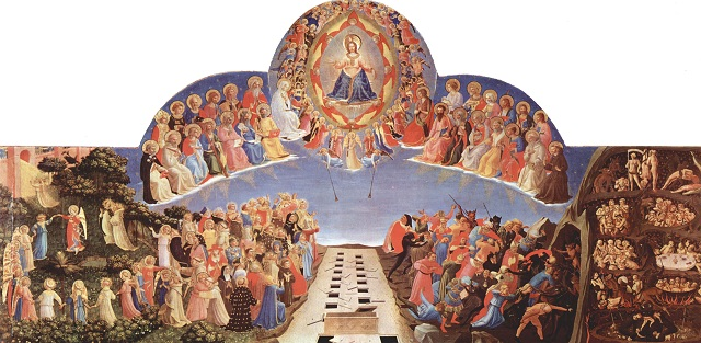 The Last Judgment, separating the sheep from the goats
