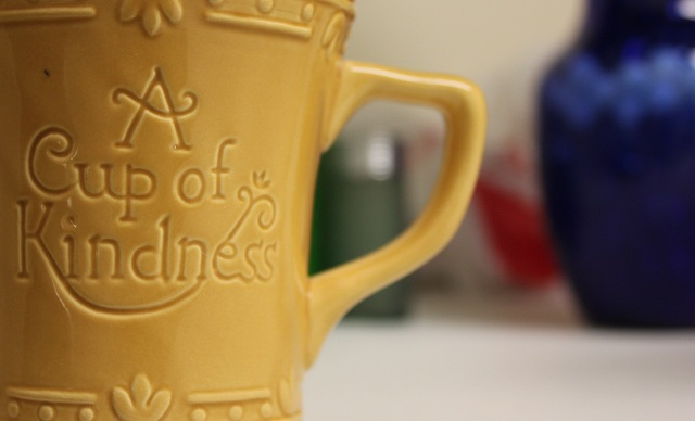A cup of God's loving-kindness