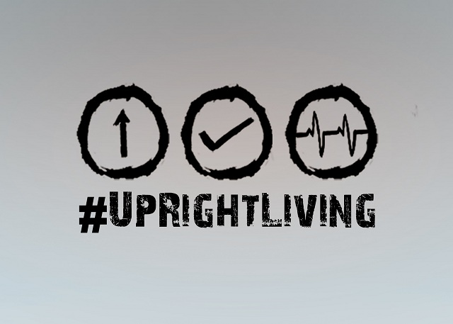 Upright-living is not uptight-living