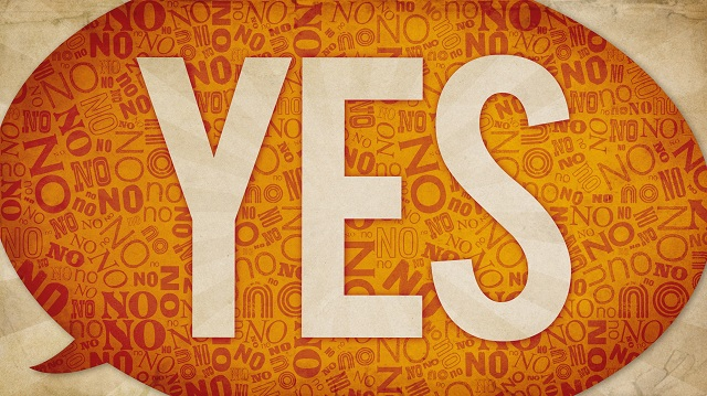 Say YES to GOD!