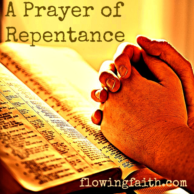 a prayer of repentance