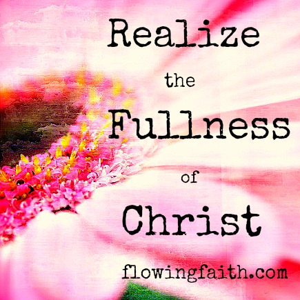 fullness of Christ