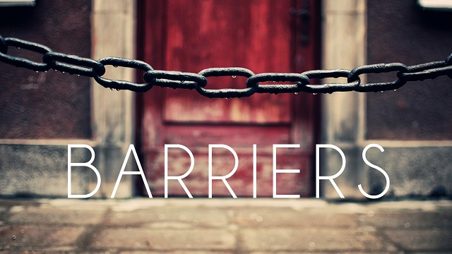 do not limit God with barriers