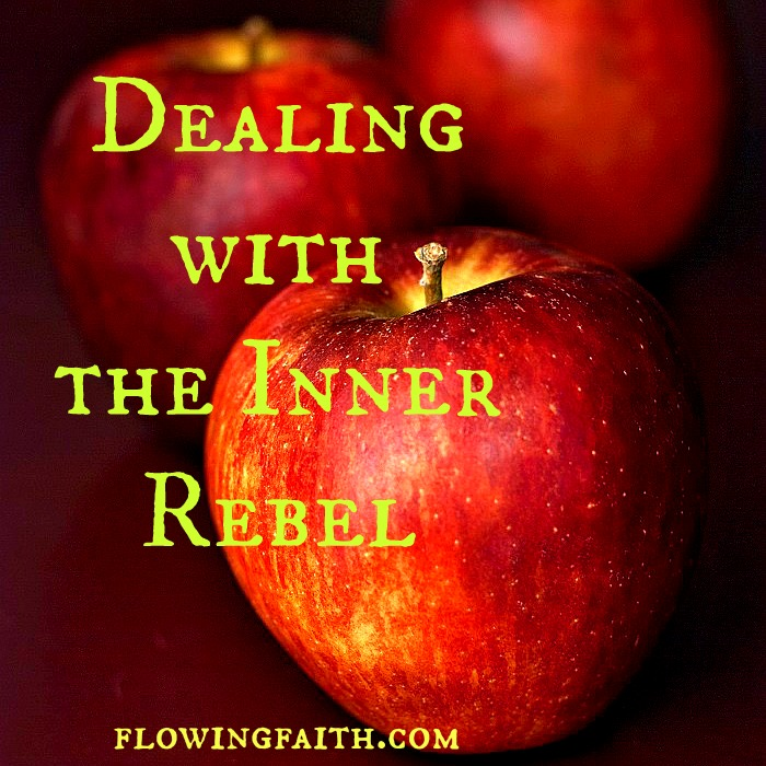 Dealing with the inner rebel