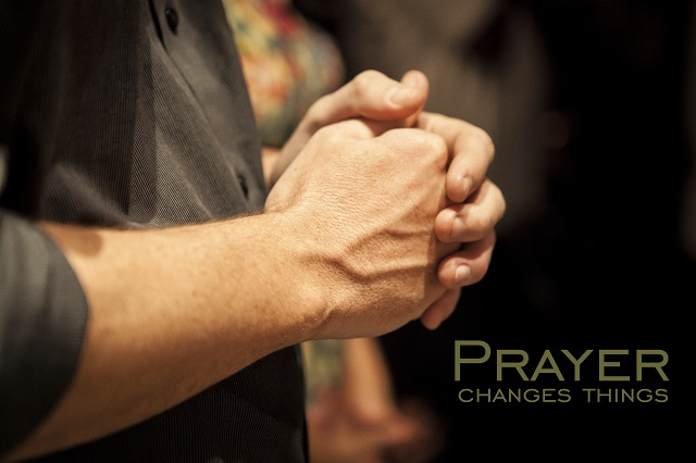 How to handle hardships? Prayer works.