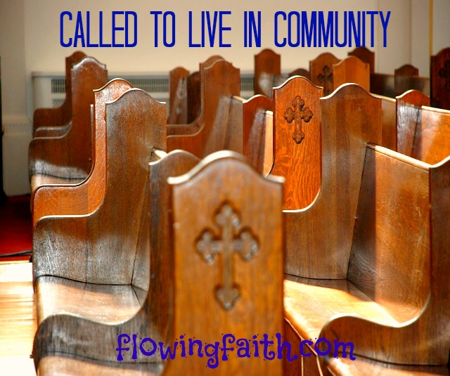 Cakked to live in community