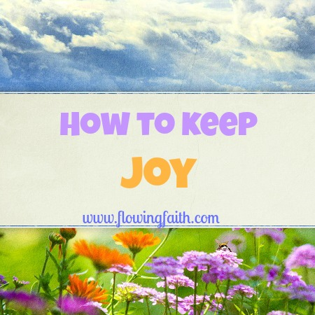 how to keep joy