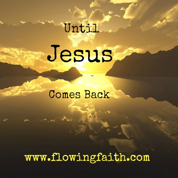 Until Jesus comes back