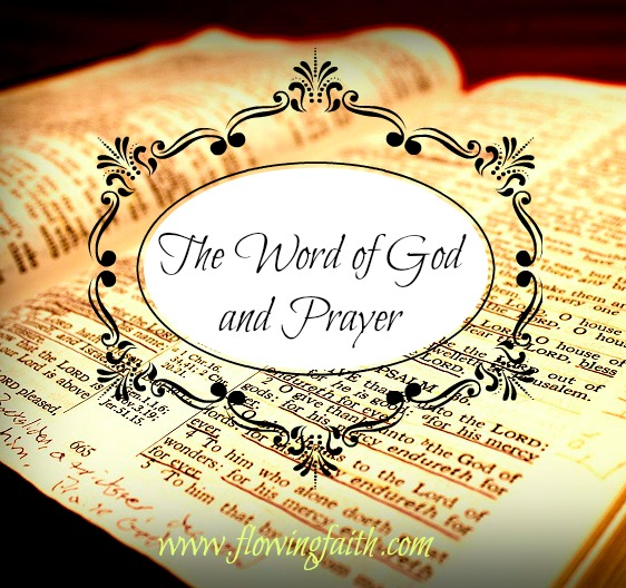 the Word of God and Prayer