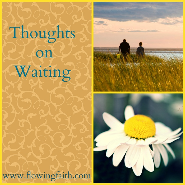 thoughts on waiting