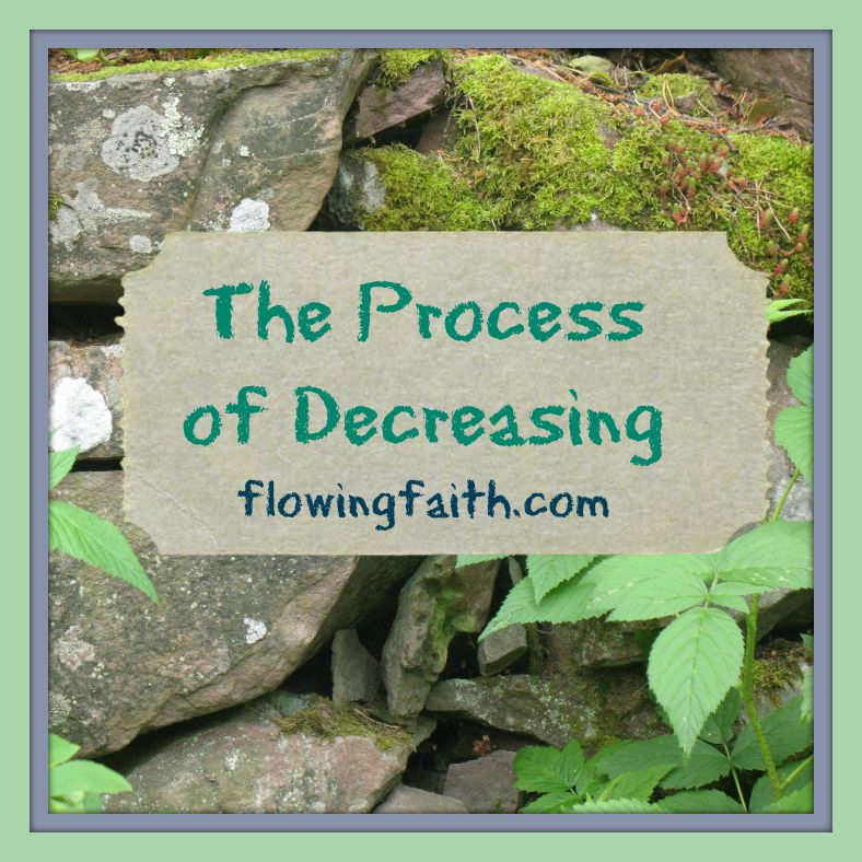 The Process of Decreasing