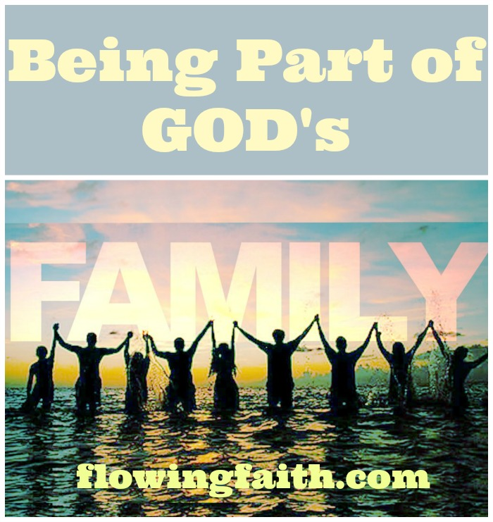 Being part of God's family