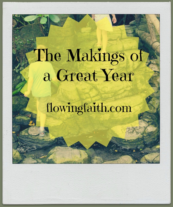 The Makings of a Great Year