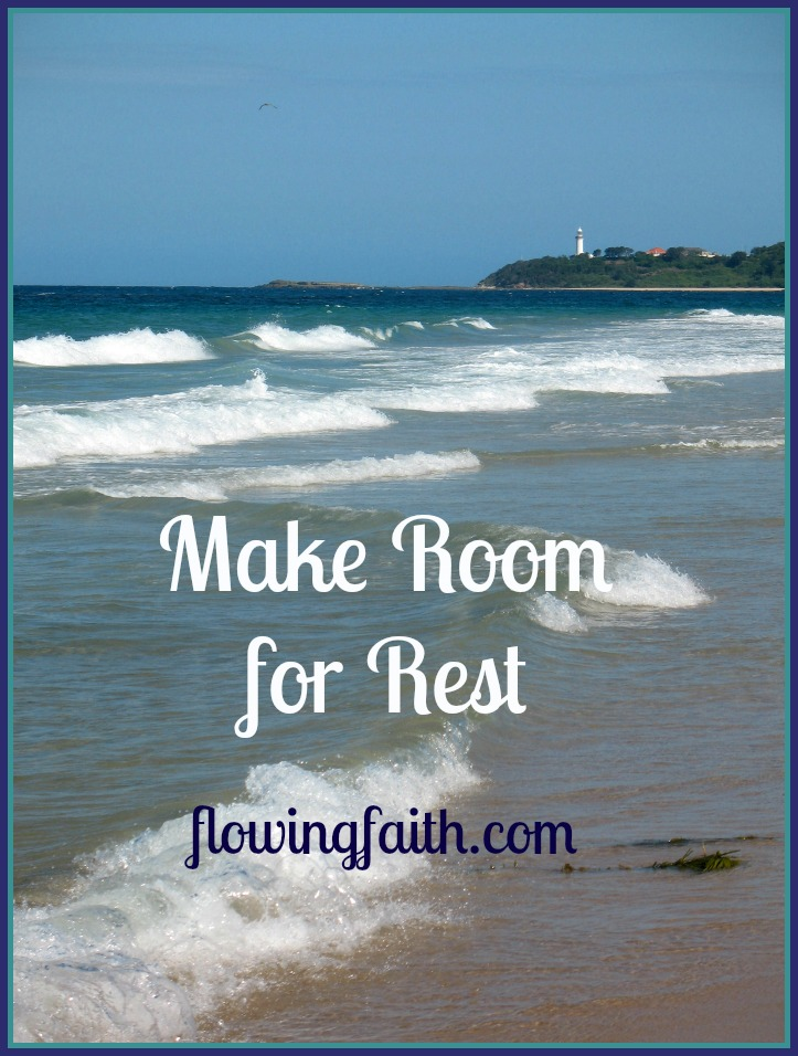 Make room for rest