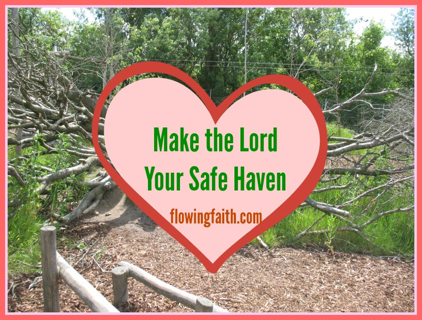 Make the Lord your safe haven