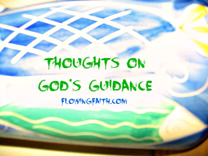 Thoughts on God's Guidance