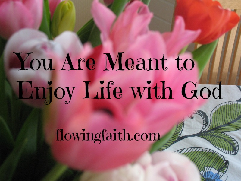 You are meant to enjoy life with God