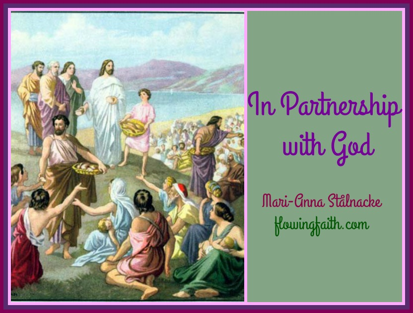In partnership with God
