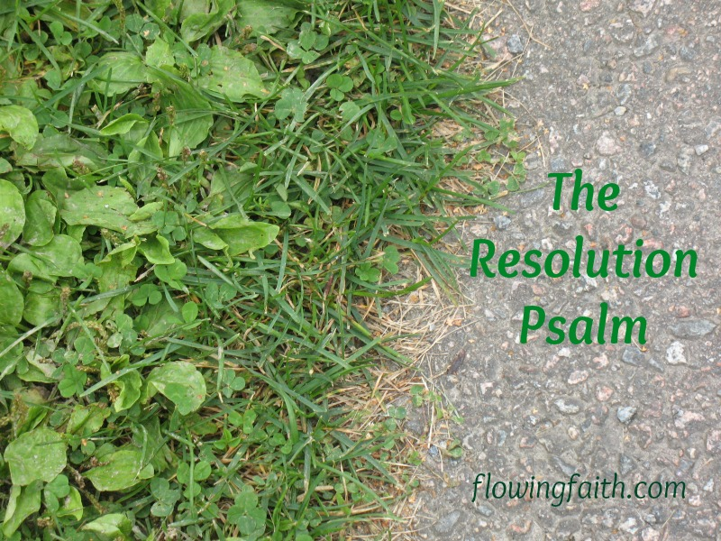 The resolution psalm