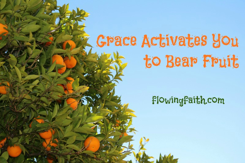 Grace Activates You to Bear Fruit