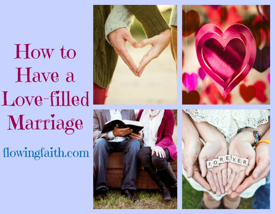love-filled marriage
