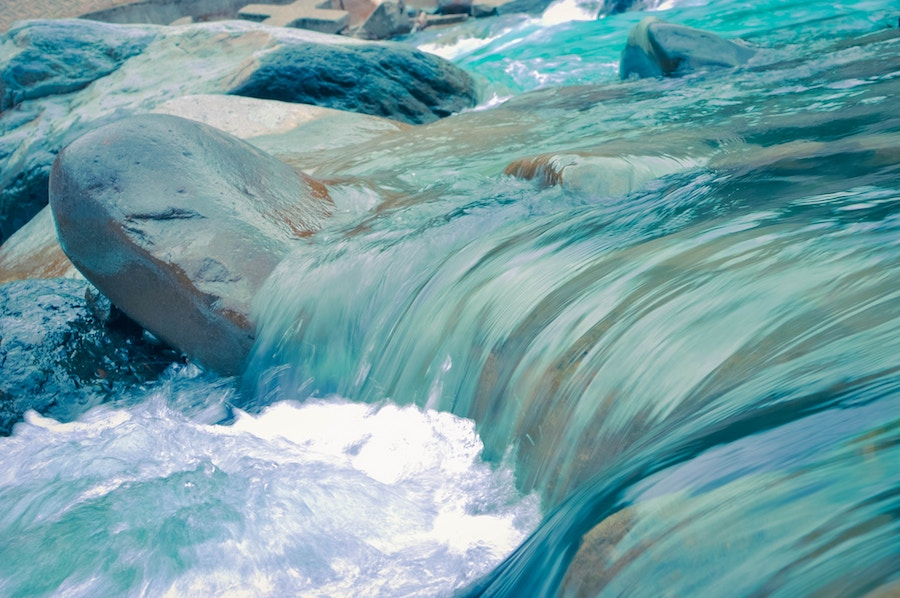 Drink from the river of joy - flowingfaith.com