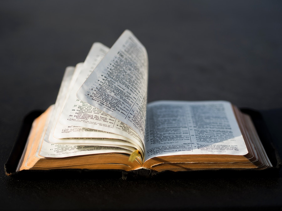The Bible is alive and active.